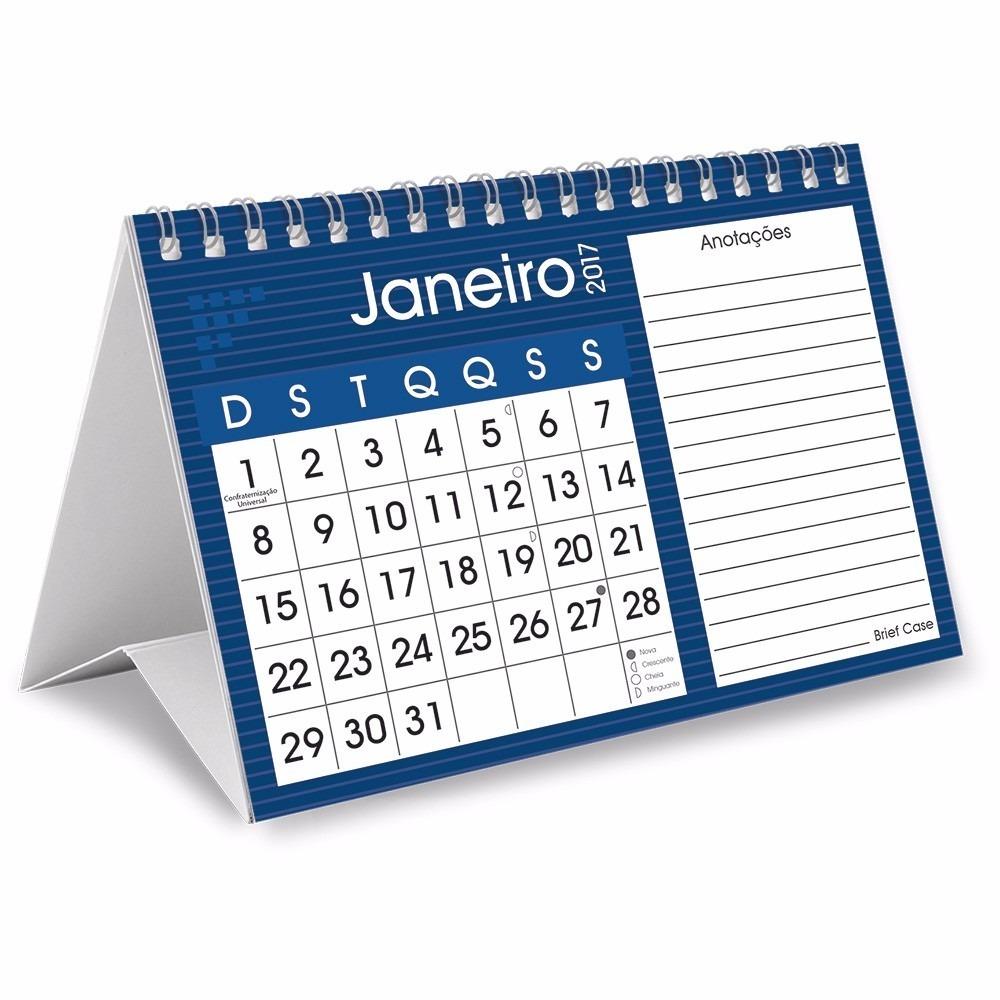 Calend rio de mesa personalizado solicite or amento r 1 00 em mercado livre - Calendario de mesa ...