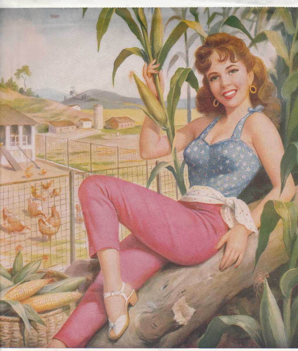 Calendario Del Ano 1965.Calendario De Parede Imagem Mulheres Ano 1965 Bm