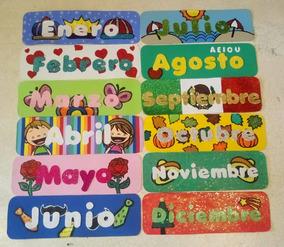Calendario Para Kinder.Calendario Didactico De Fomi