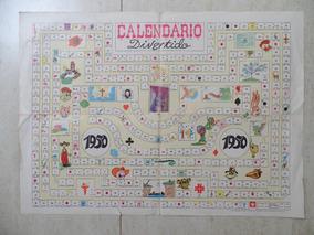 Calendario 1950.Calendario Divertido 1950 Almanaque De Vida Infantil