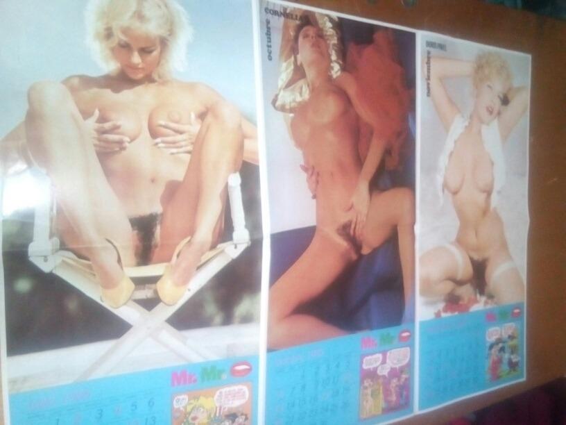 Calendario Mujeres Desnudas.Calendario Erotico Mujeres Desnudas 1985 300 00