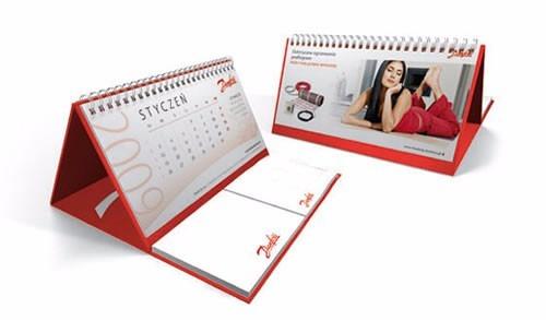 calendario escritorio con taco personalizado - contraplacado