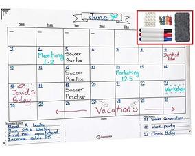 Calendario Grande.Calendario Grande Borrado En Seco Pared 24x36 Pulgadas P
