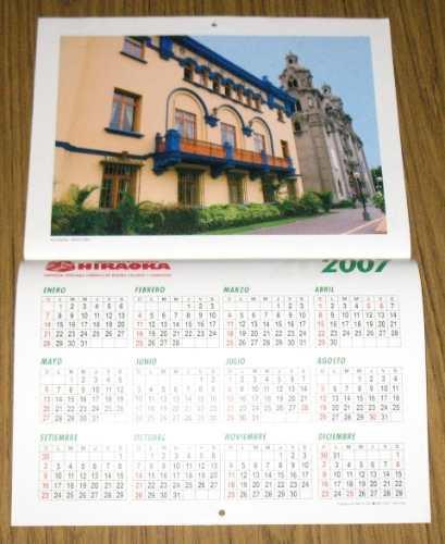 calendario importaciones hiraoka 2006 d colección lima fotos