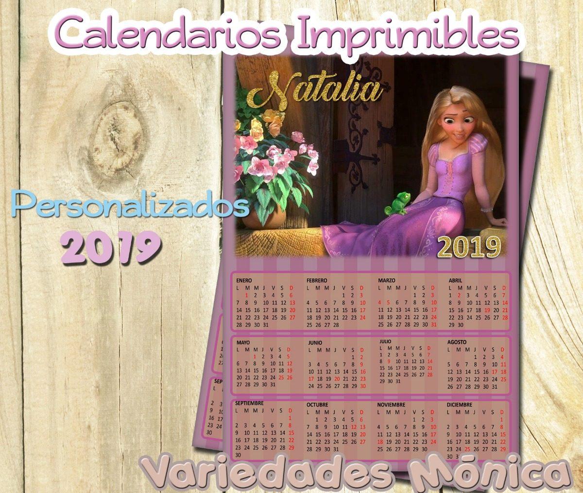 Calendario Imprimible Personalizad Mujer Maravilla ...