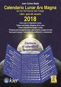 Calendario Lunar 2020 Pesca.Calendario Lunar Ars Magna 2018 Juan Carlos Badia
