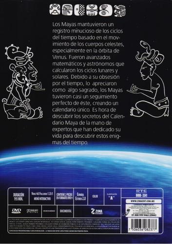 calendario maya la serie dvd