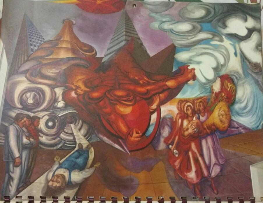 Calendario Muralistas Mexicanos Siqueiros Rivera Orozco