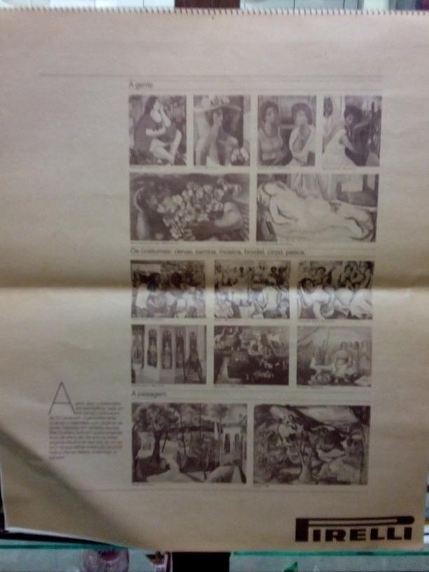 Calendario De 1976 Completo.Calendario Pirelli 1976 Di Cavalcanti Completo