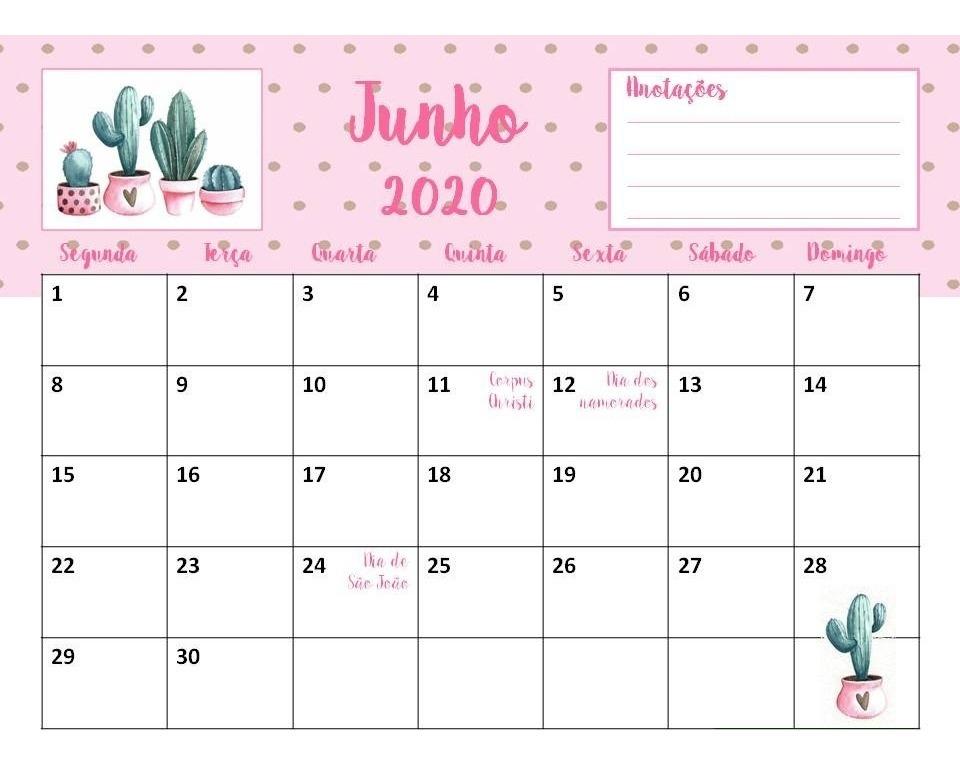 Calendario 2020 Portugues Com Feriados.Calendario Agenda 2020