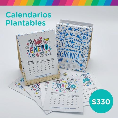 calendario plantable 2019 - fundación garrahan
