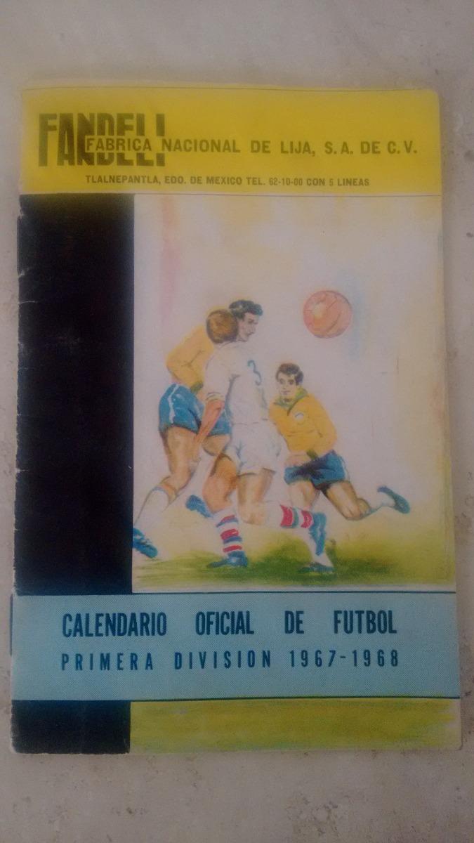 Calendario Futbol Primera Division.Calendario Primera Division 1967 1968 265 00