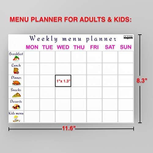 Calendario Semanal.Calendario Semanal De Pizarra Blanca 2019 Calendario Magne