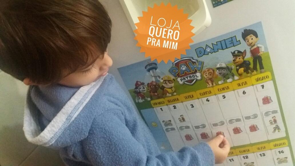 Calendario Montessori.Calendario Semanal Ima Personalizado P Criancas Montessori