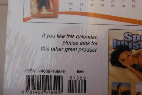 calendario sports ilustrated 2009 swimsuit