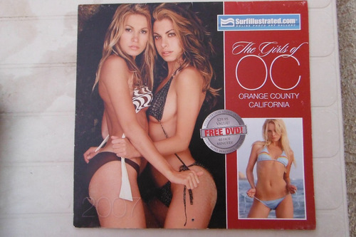calendario surf illustrated the girls of orange county 2006