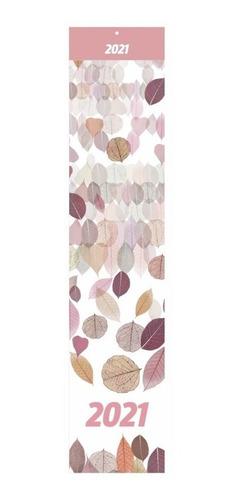 calendário vertical décor 70 cm redoma