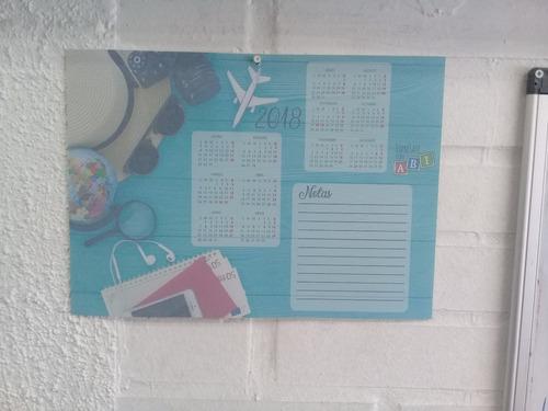 calendarios corporativos de pared 33*24 cm.
