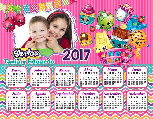 calendarios personalizados 2017. listo para imprimir!!