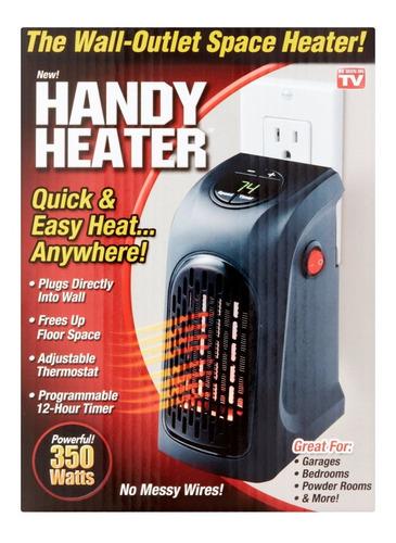 calentador ambiente calefactor graduable electr handy heater