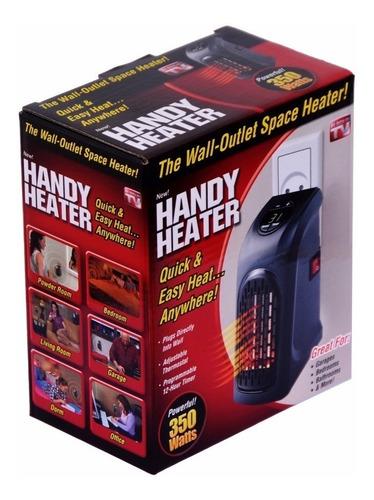 calentador ambiente para pared electrico handy heater + obs