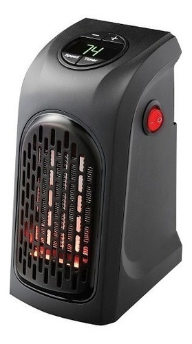 calentador ambiente portátil calefactor de pared 400w