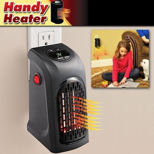 calentador ambiente portatil pared calefactor handy heater