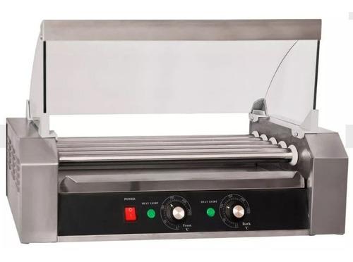 calentador asador de salchichas perros calientes