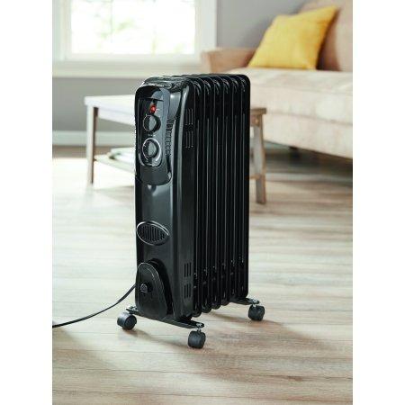 calentador calefactor de aceite mainstays radiador