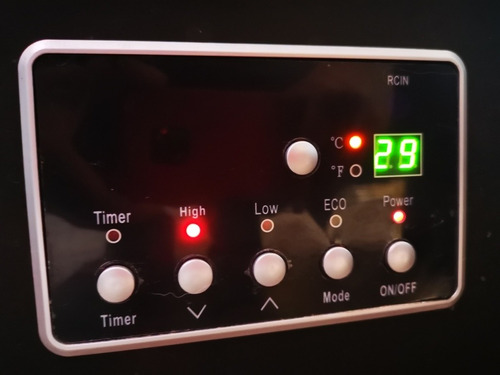 calentador calefactor eléctrico