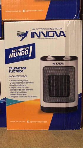 calentador calefactor electrónico  giratorio innova