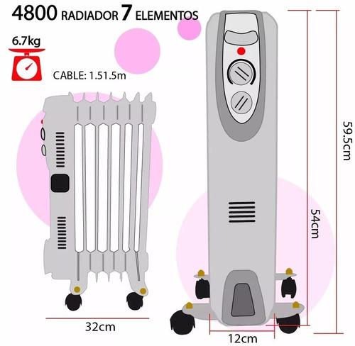 calentador/ calefactor / radiador / estufa de aceite