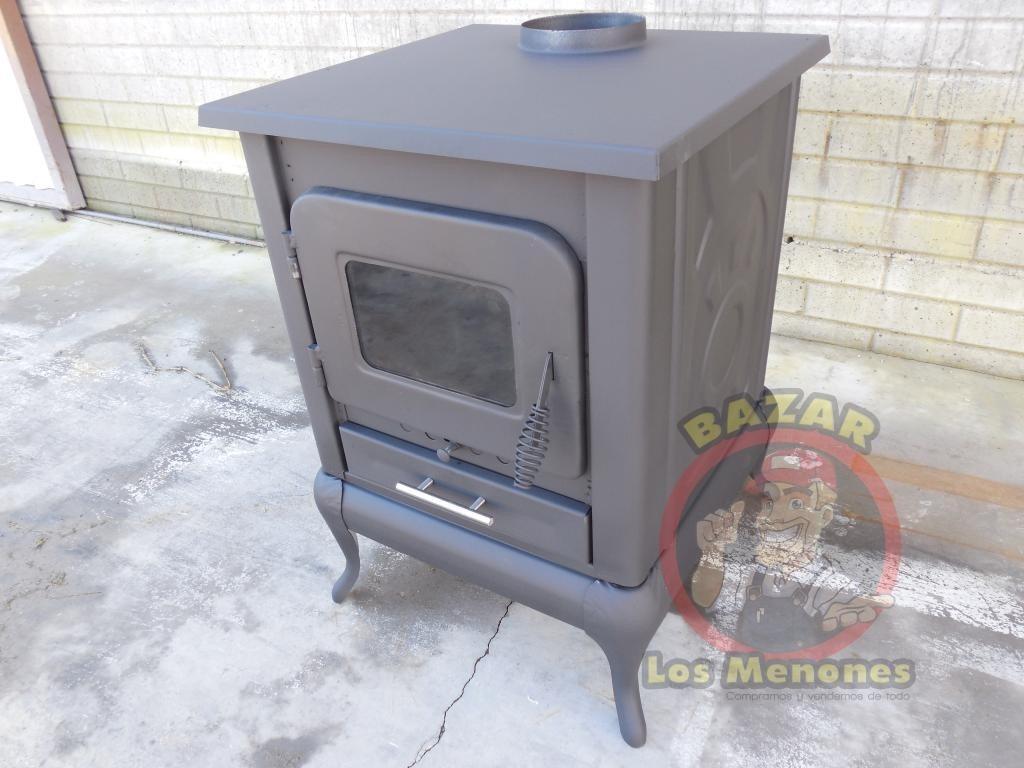 Calentador calent n estufa chimenea a le a 2 - Instalar chimenea de lena ...