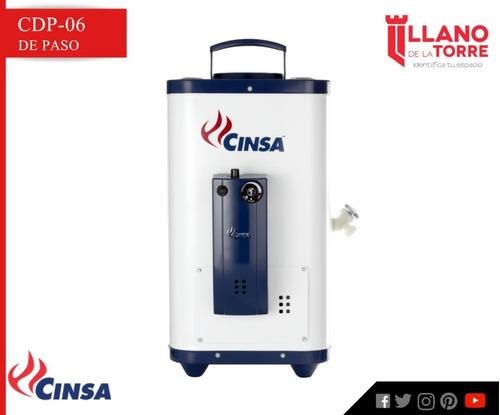 calentador cdp-06 fl gas l.p. 6 lts/min
