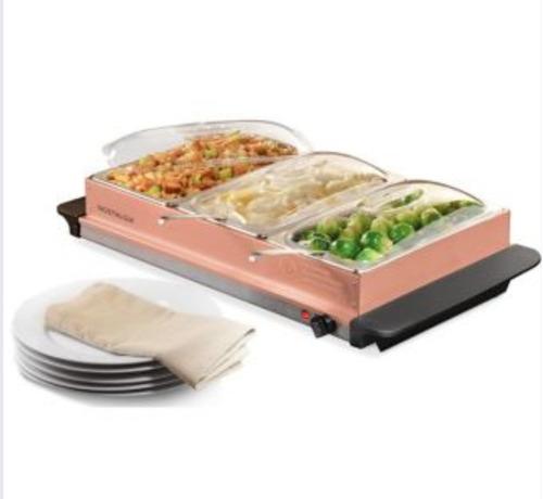 calentador comida grande tipo buffet envío gratis