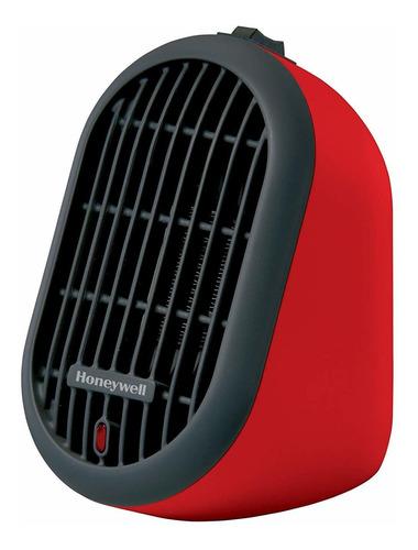 calentador con bulbo cerámico hce de 100w  honeywell, roj