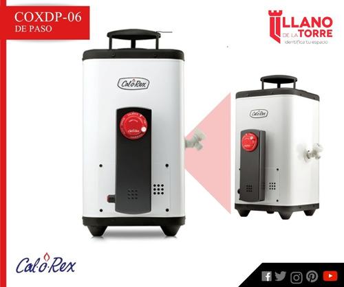 calentador coxdp-06 gen 2 gas l.p. 6 lts/min