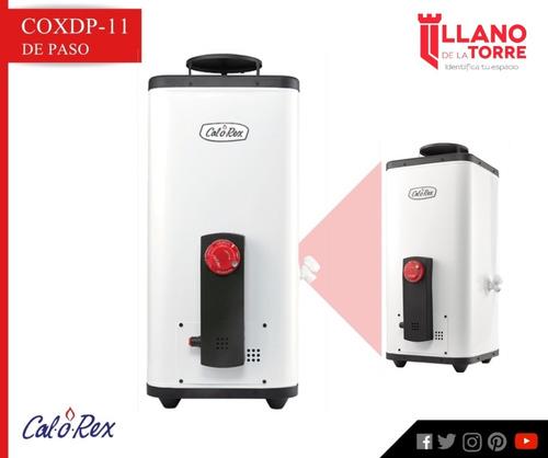calentador coxdp-11 gen 2 gas l.p. 11 lts/min