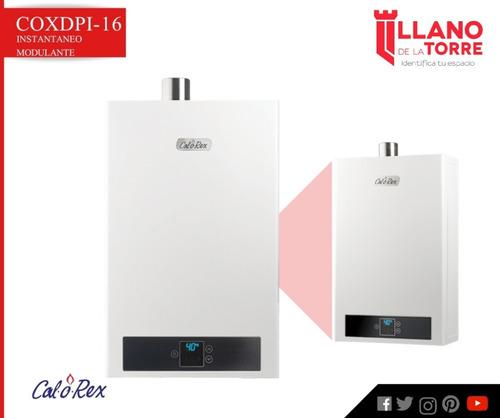 calentador coxdpi-16 lp inst. modulante gas l.p