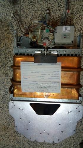 calentador de 18 lts/min platinum star gas - usado como new