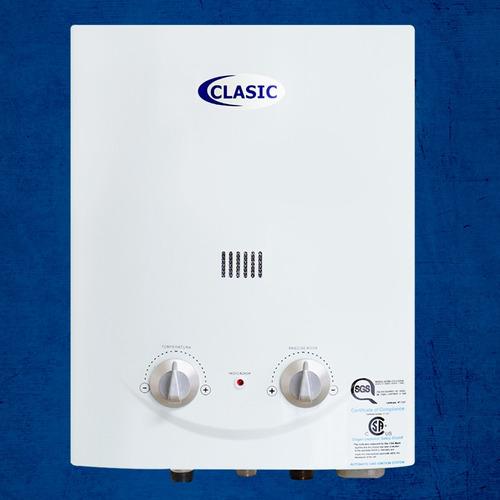 calentador de agua a gas 5.5 l 2 años de garantia