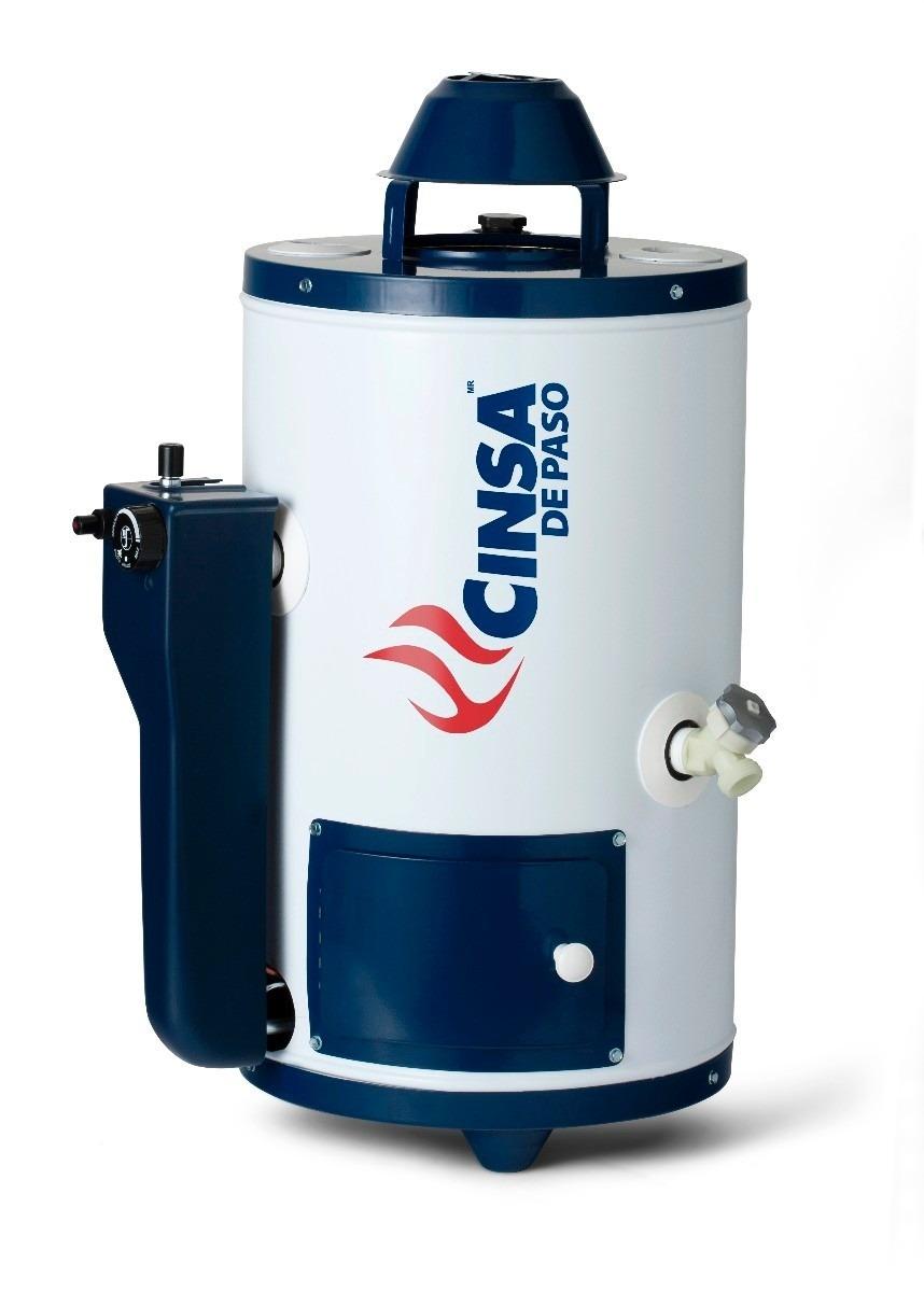 Calentador de agua cinsa 6 litros gas natural cdp 06 2 en mercado libre - Calentadores de gas baratos ...