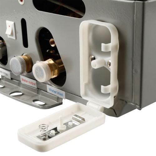 calentador de agua instantáneo a gas natural de 16 g / min