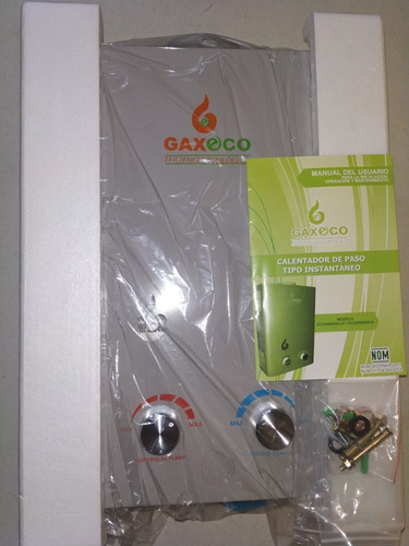 calentador de agua instantáneo. marca gaxeco eco6000hv-lp