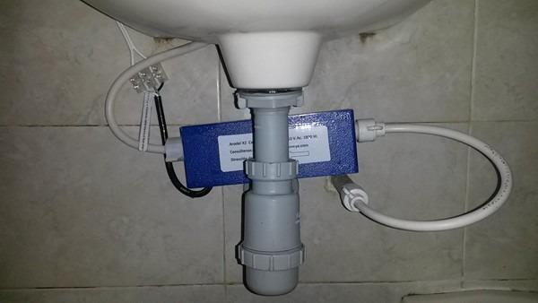Calentador de agua para lavamanos y dishwasher for Lavamanos sin instalacion