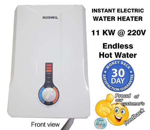 calentador de agua sin tanque eléctrico agua caliente inter