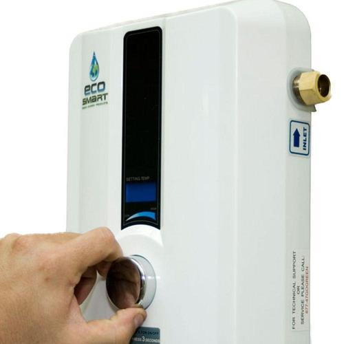 calentador de agua sin tanque eléctrico, blanco residencial