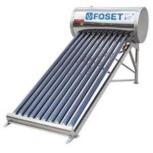 calentador de agua solar de tubos vidrio 100lts