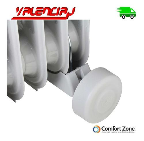 calentador de ambiente comfort zone cz7007j tipo radiador