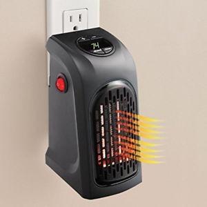calentador de ambiente handy heater calefactor de pared 350w